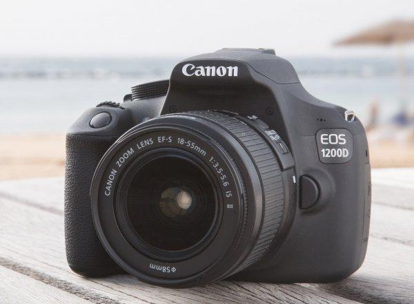Canon EOS 1200D Kit 18-55mm 1:3,5-5,6 IS II Digitale SLR Kamera bei ebay für 299€ (inkl. Versand)