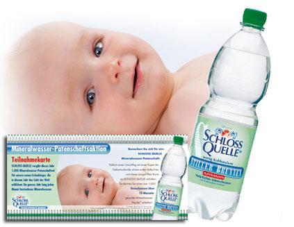 [Lokal - PLZ 3-5] 12 Monate Gratis Wasser für Babys <1 Jahr