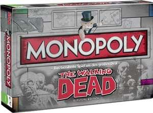 Winning-Moves Monopoly The Walking Dead Survival Edition