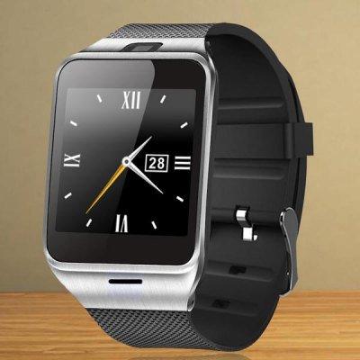 Smartwatch GV18 mit SIM-Slot(als Telefon nutzbar) NFC, Kamera.. für Android & IOS für 36,36€ @Banggood