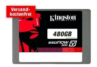 Kingston SSDNow V300 480GB für 125€ @MediaMarkt