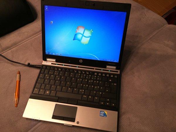"""[gebraucht] HP Elitebook 2540p: i5-540M, 4 GB RAM, 250 GB HDD, 12,1"""", Win7Pro"""