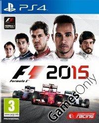 F1 (Formula 1) 2015 PS4 & XBOX ONE