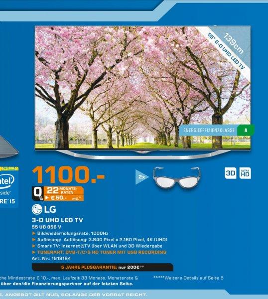 (lokal Saturn Bochum&Hattingen) LG 55UB856V für 1100€ idealo ab 1396,99€