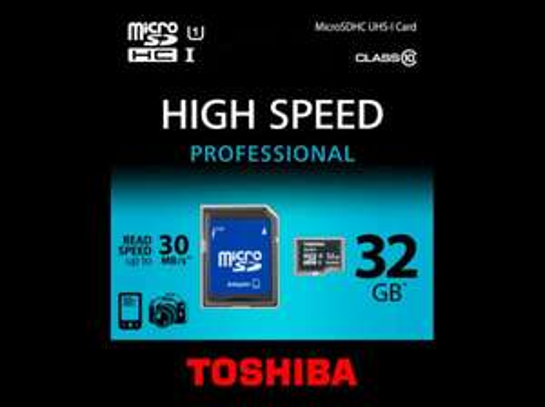 (mediamarkt.de) Toshiba MicroSDHC  Speicher Karte 32GB Class 10 + Adapter