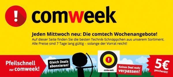 (Sammelartikel) Comweek beim Comtech - Pulsuhr von Polar für 125€, Tintenstrahldrucker mit WLAN von Canon für 85€, Acer Aspire Notebook mit FullHD und guter Hardware für 579€