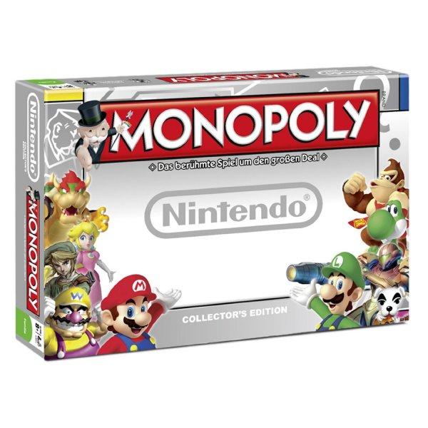 Monopoly Nintendo Brettspiel Collector's Edition für 28,95€ @Buecher.de
