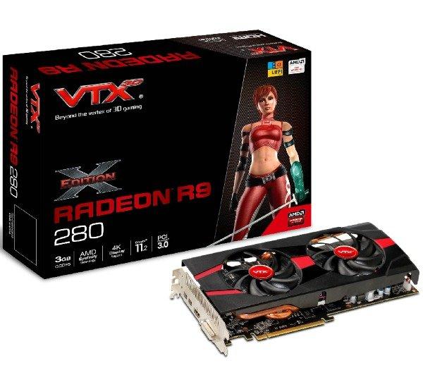 VTX3D R9 280 3GB X-Edition  für 161,40 Euro [pixmania]