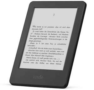 10 € Rabatt auf Amazon Kindle eReader mit Touch-Display [Amazon]