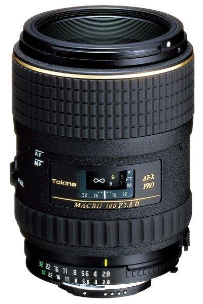 [Amazon] Tokina ATX 2,8/100 Pro D Macro AF Objektiv für Canon für 314,13€
