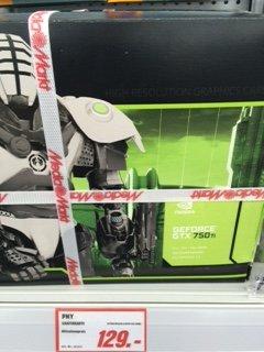 [MM Neu-Ulm Glacis Galerie] PNY GeForce GTX 750 Ti 2GB   (idealo.de: 153,37 €)