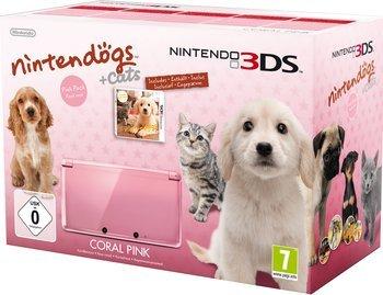 Nintendo 3DS inkl. Nintendogs + Cats für 118,92€ @TheGameCollection