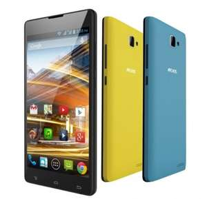 """ARCHOS 50 Neon 12,7cm (5"""") Smartphone Android 4.2.2 Quad Core & 3 Wechselcover [avides]"""
