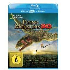 National Geographic: Flying Monsters - (Blu-ray 3D) für 6,99€ @Saturn