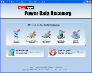 MiniTool Power Data Recovery Boot Disk Vollversion kostenlos