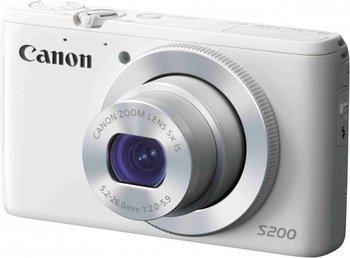 [MediaMarkt] CANON PowerShot S200 weiß für 129€