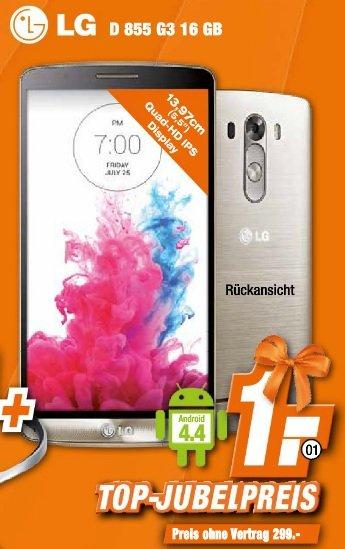 [Expert Technikmärkte] LG G3 16 GB für 299,-