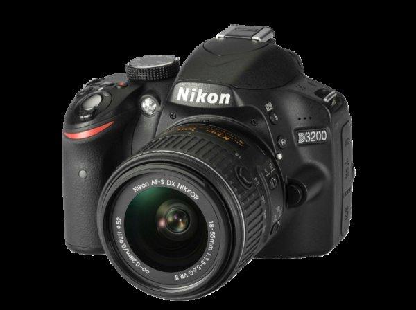 [Mediamarkt.de] Nikon D3200 mit Objektiv AF-S VR DX 18-55mm + 50€ Gutschein für 333,99€