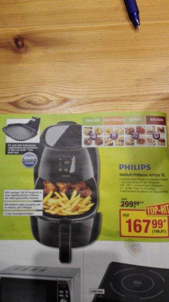 [METRO] Philips Airfryer XL inkl. Grilleinsatz  -20% gegenüber idealo