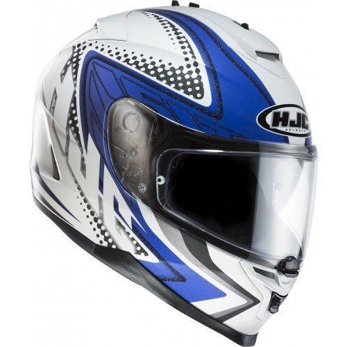 Motorradhelm HJC IS-17 blau/weiß für 95,05€