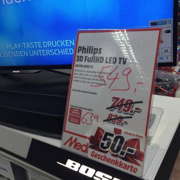 Philips 48Zoll (600Hz,3D,FullHD) [Lokal Köln]