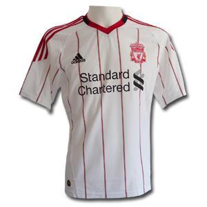 Alle paar Wochen wieder: FC Liverpool Trikot 2010-2011 von Adidas für 24,45€ inklusive Versand statt 49,95€
