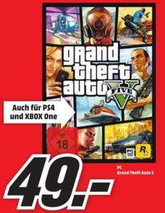 GTA 5 PC Version 49 Euro Lokal Rödental/Coburg nur am 26.04.15