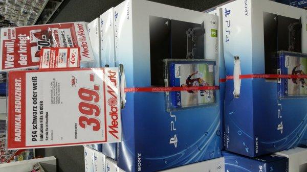 lokal Media Markt Sulzbach PS4 + Fifa 15 + 50 Euro Gutschein 399,-