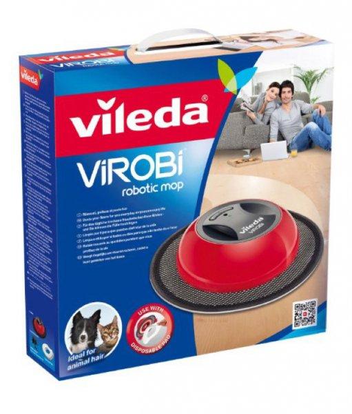 Vileda Virobi - Staubwischroboter mit Einweg-Vliestüchern für 19,99