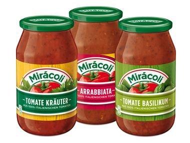 [REAL bundesweit] KW18 Mirácoli Pastasaucen (versch. Sorten) 0,49 € (Angebot + Coupon) [Gültig bis 02.05.2015]