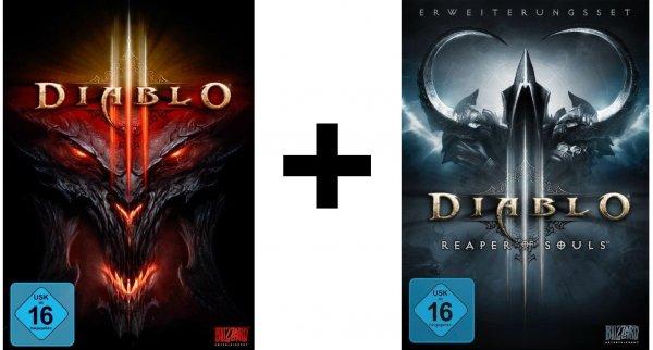 [Saturn Chemnitz] Diablo 3 + Diablo 3 Reaper of Souls Add-On (Komplettpaket) PC/Mac