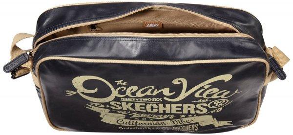 (Amazon.de-Prime) Skechers Umhängetasche Nautic Schultertasche Blau 13,37€