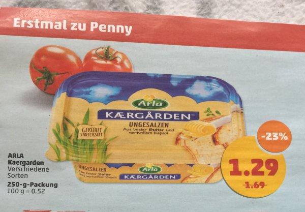 Arla Kaergarden 250g 79.- Cent mit Scondoo in KW18 bei Penny. Offline