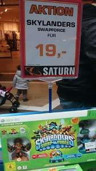 [lokal Saturn Esslingen] Skylanders Swap Force Starterpack Xbox360  19€