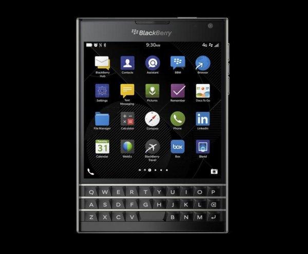 [Amazon WHD] Blackberry Passport in schwarz sehr gut für 316,81€