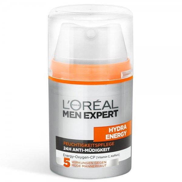 [Amazon] L'Oréal Paris Men Expert Hydra Energy Feuchtigkeitspflege Anti-Müdigkeit, 50ml für 2,66€ (od. 3,11€) inkl. Versand
