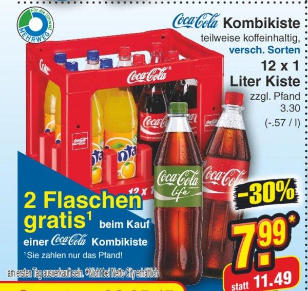 [Netto ohne Hund] 14 Liter Cola für 7.99€ + 3.30€ Pfand