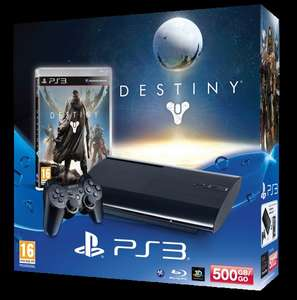 Sony Playstation 3 Super Slim 500GB Destiny Bundle [Amazon WHD]