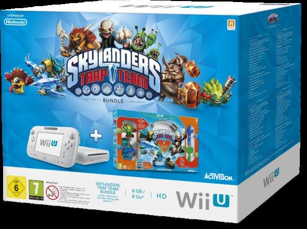 [MediaMarkt] Wii U Skylanders Trap Team Bundle (weiß)