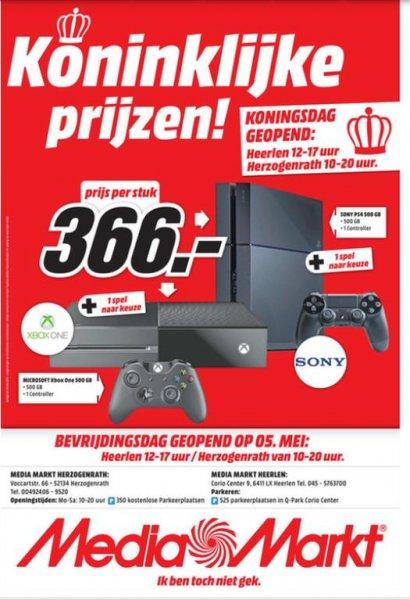 Media Markt Herzogenrath Playstation 4 + 1 Spiel nach Wahl