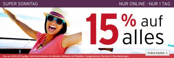 A.T.U. (online) - heute 15% Rabattaktion auf alles (evtl. weitere 5% möglich)