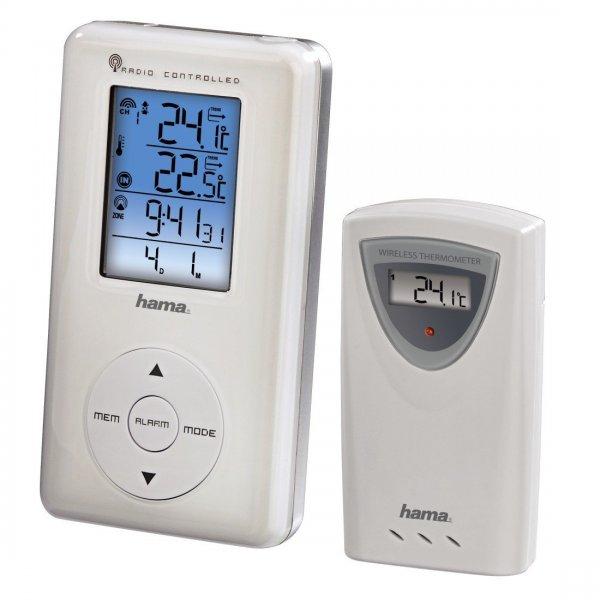 [Amazon Prime] Hama Elektronische Wetterstation EWS-190, mit Funkuhr, Datum und Wecker für 18,95€