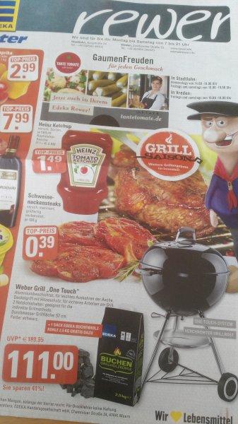 [Stadtlohn und Vreden] Weber Grill One Touch + 1 Sack Kohle