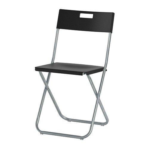[lokal IKEA Berlin] 2 Gunde Klappstühle in schwarz zum Preis von Einem mit Onlinecoupon