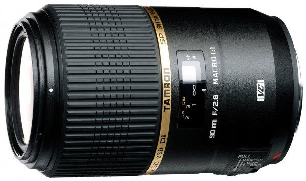 (Amazon.de Blitzangebote) Tamron SP 90mm F/2.8 Di VC USD Nikon/Canon 339€