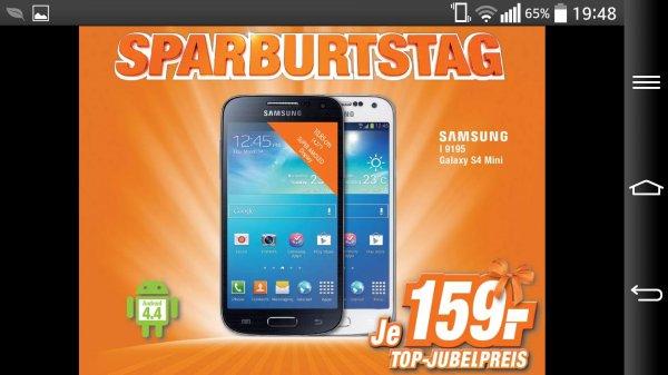 [Expert - Technikmarkt] Samsung Galaxy S4 Mini für 159.-  €