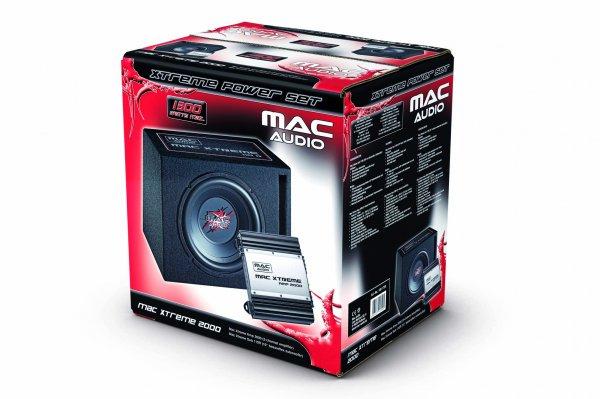 MAC-AUDIO Mac Xtreme 2000 Bassreflex-Subwoofer + Verstärker,  @MediaMarkt