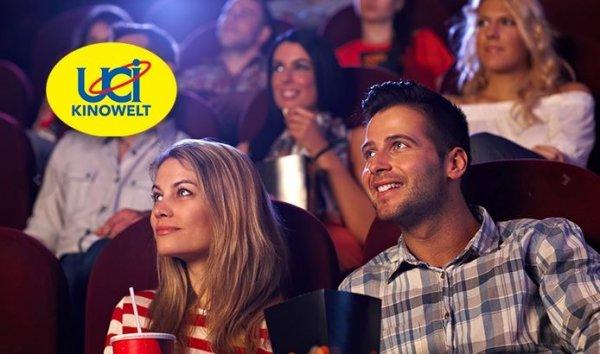 5 Kinogutscheine für alle 2D-Filme in der UCI KINOWELT 31,- € @ Groupon