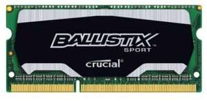 Crucial Ballistix Sport 4GB DDR3 PC3-12800 1866 204pin CL10 @Amazon.de