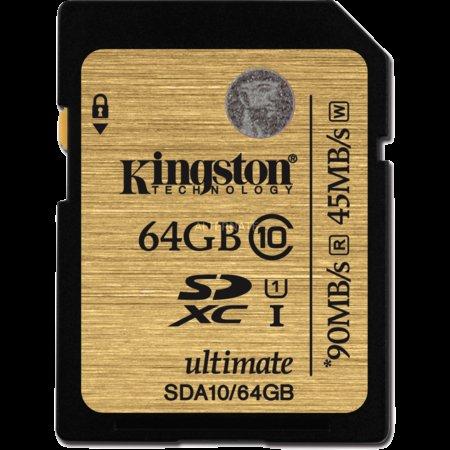 [ZACK ZACK-Flash] Kingston Secure Digital SDXC Card UHS-I 64 GB